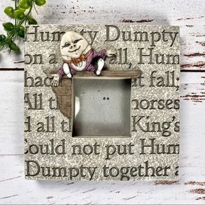 Humpty Dumpty Vintage Picture Frame